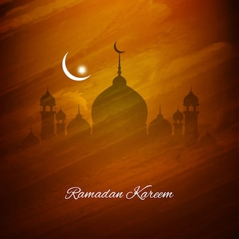 Красивый исламский дизайн фона