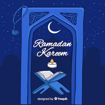 Beautiful ramadan background