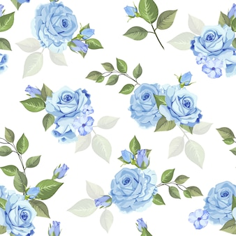 Beautiful rose seamless pattern  for wallpaper