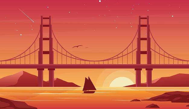 美しいサンフランシスコの風景