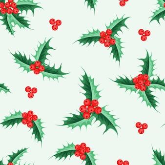 美しいシームレスなクリスマスパターンのデザイン