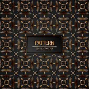 Beautiful seamless golden pattern background