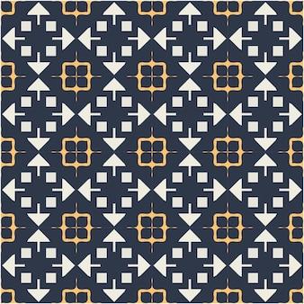 Beautiful seamless pattern with ethnic style