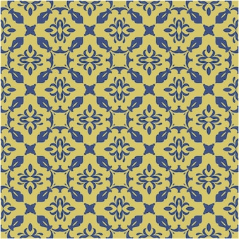 Beautiful seamless pattern with motif and ethnic style