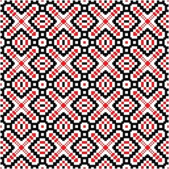 モザイクモチーフスタイルの美しいシームレスパターン