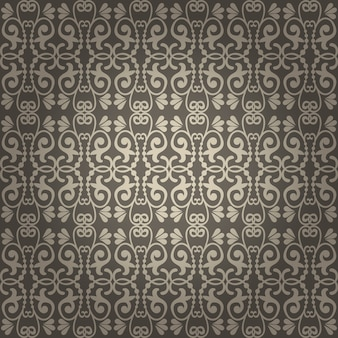 Beautiful seamless vintage vector background for wallpapers