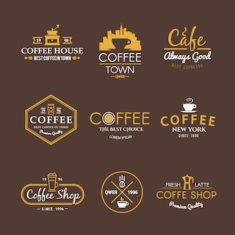 Beautiful set of labels for your projects