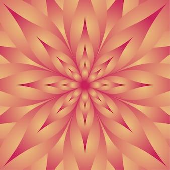 Красивый блестящий цветочный дизайн иллюстрация