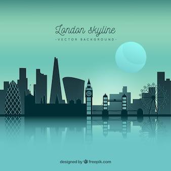 Красивый горизонт лондона