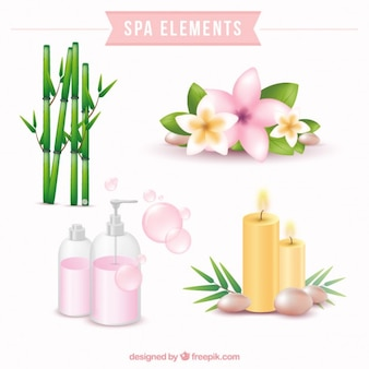 Beautiful spa elements