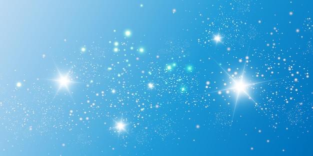 特別な光で美しい火花が輝きます