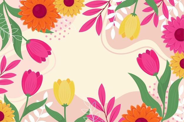 Коллекция красивых весенних цветов