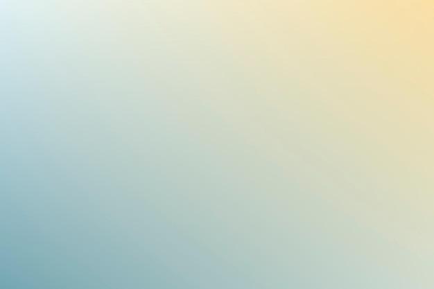 아름다운 여름 그라데이션 배경 파란색과 노란색