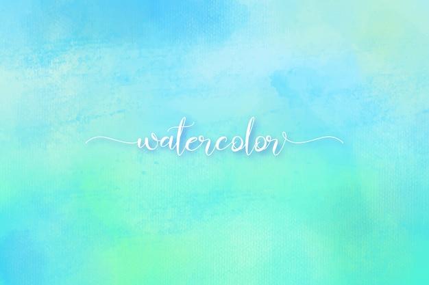 水彩と塗料の美しい質感