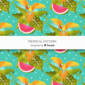 Красивый тропический фон