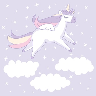 Beautiful unicorn.