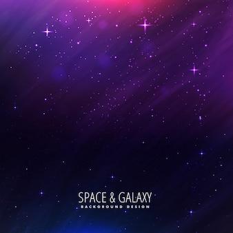 보라색 컬러의 아름다운 우주 배경