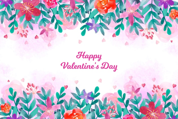 Beautiful valentine's day background