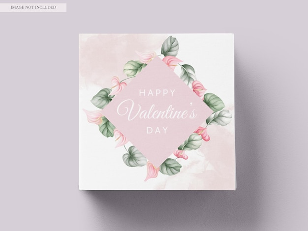Beautiful valentine's day greeting card