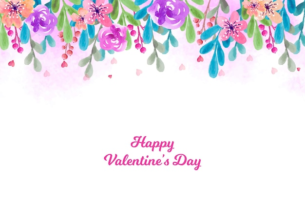 Beautiful valentine's day wallpaper
