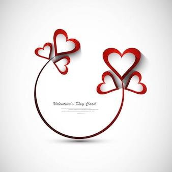 Beautiful valentines day greeting