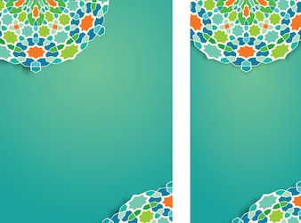 Beautiful Vector arabic ornament pattern for Ramadan Kareem