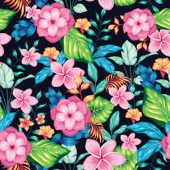 Beautiful vintage floral seamless pattern