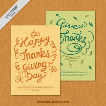 Beautiful vintage thanksgiving cards