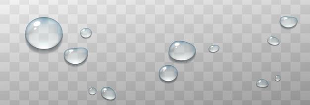 아름 다운 물 방울 그림