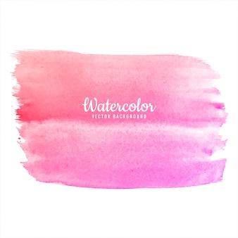 아름다운 수채화 다채로운 스트로크 배경