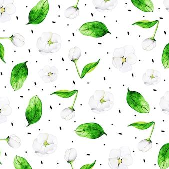 Beautiful watercolor floral multipurpose background