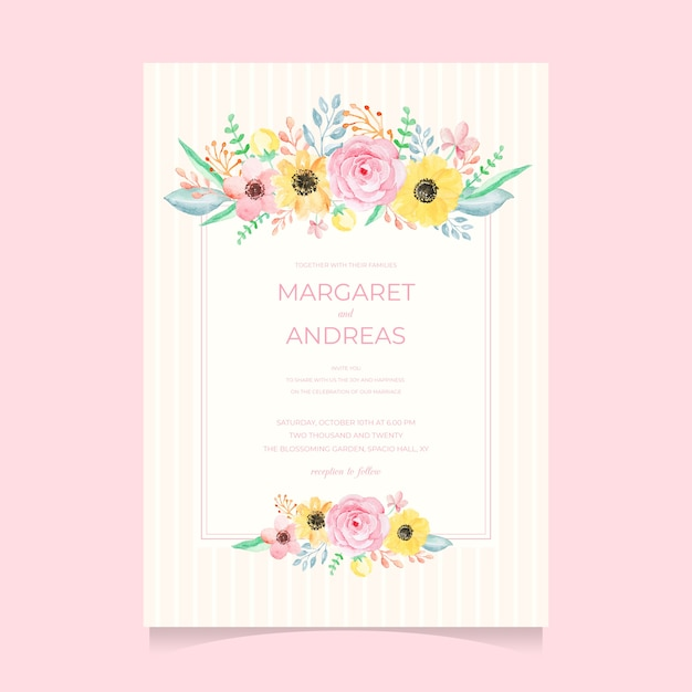Elegant Invitation Vectors Photos and PSD files Free Download
