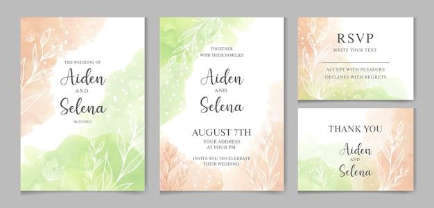 Красивые свадебные приглашения