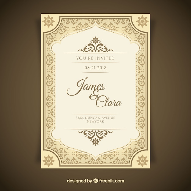 Engagement Invitation Vectors Photos and PSD files Free Download