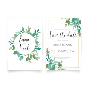 Wedding card vectors photos and psd files free download beautiful wedding invitation template stopboris