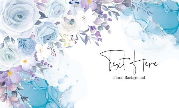 Красивый белый цветочный фон дизайн