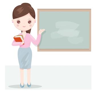 Beautiful women teacher