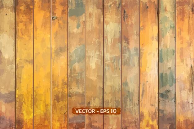 Beautiful wood textured background Premium Vector