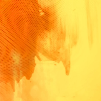 아름 다운 노란 수채화 배경