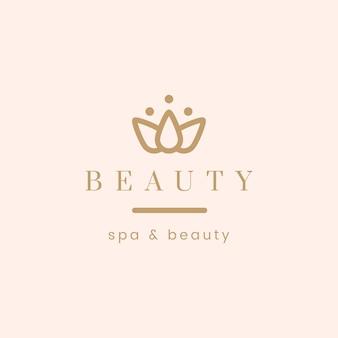 Вектор логотипа красоты и спа Бесплатные векторы