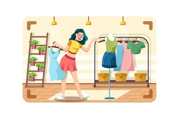 Бьюти-блогер, продающий модную одежду онлайн.