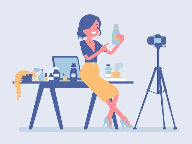 Beauty blogger streaming