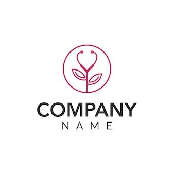 Beauty clinic vector logo icon illustration