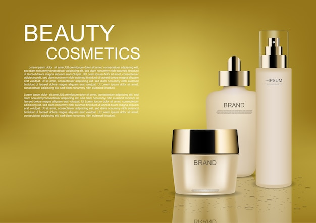 Beauty cosmetic ads