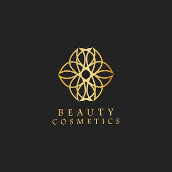 Beauty cosmetics design logo vector