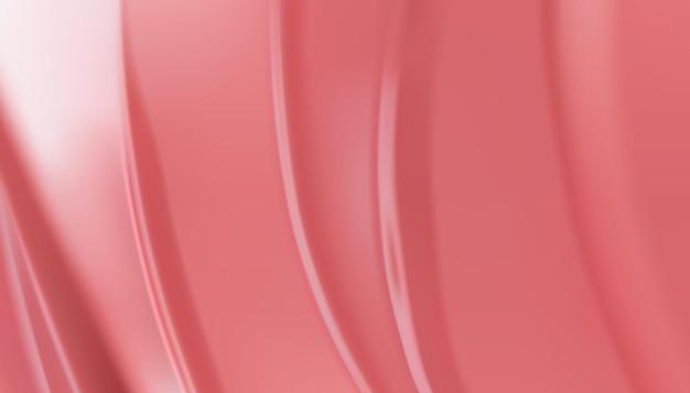 美容クリームテクスチャ背景。ピンク色の化粧用クリームローション。