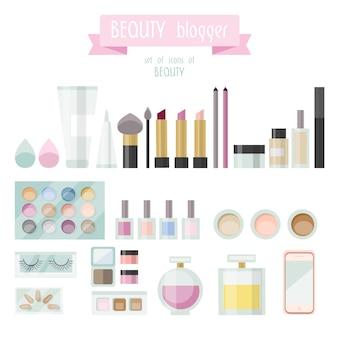 美容要素のコレクション