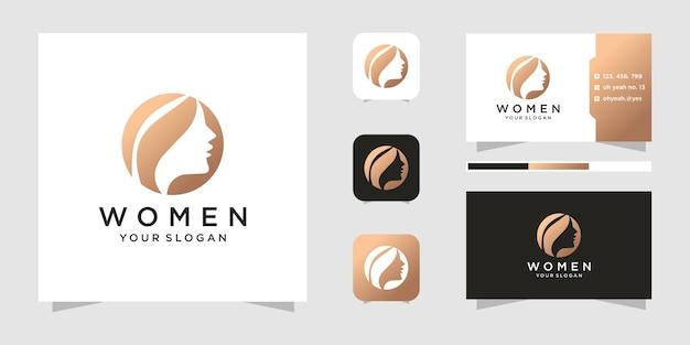 Коллекция логотипов beauty face