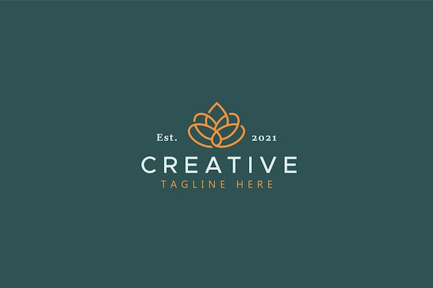 Beauty and fashion brand identity vector logo template