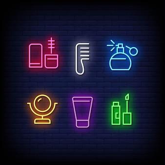 Beauty fashion symbol neon signs